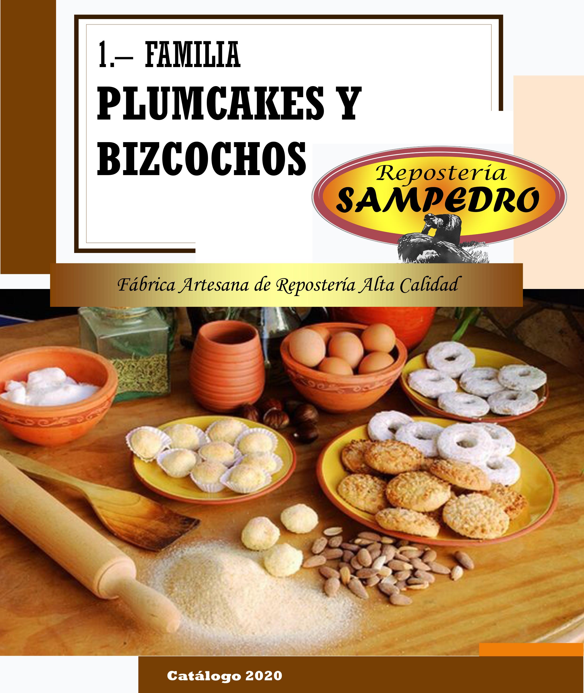 Cakes y bizcochos sampedro